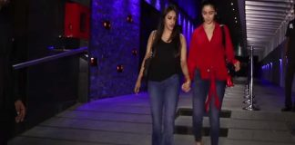 Alia Bhatt and vidhu Vinod chopra spotted at Hakkasan