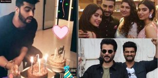 Arjun Kapoor 33 Birth Celebration with Jhanvi And Anil Kapoor
