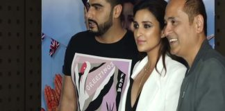 Arjun Kapoor and Parnity Chopra at Grand Wrap Party of Namaste England