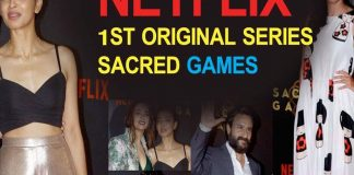 Bollywood Stars At Red Carpet of Netflix 1st Series Sacred Games After Party