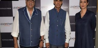 Bonny Kapoor & Tabu At The Book Launch Of Dividing Lines By K N Raghavan