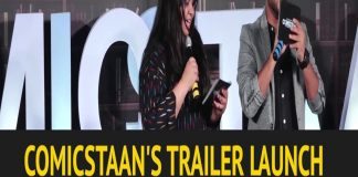 Comicstaan Trailer launch copy