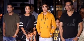 Malaika Arora Family Spotted with others at same place in Mumbai