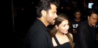 Anil kapoor spotted at yongraad with his Daughter Rhea Kapoor.
