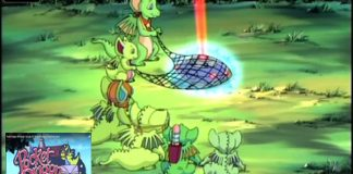Pocket Dragon Adventures Episode 23 Pocket Dragons Vs The Flying Saucer this cartoon was based on the Group of tinny Dragons
