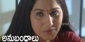 Anubhandhalu Telugu TV Serial Episode # 27 Sri Charan, Vinod bala,