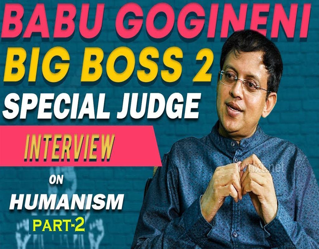 Babu Gogineni on Idealism & Materialism in Philosophy Gogineni Exclusive Interview