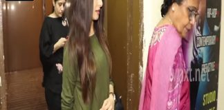BhagyaShree spotted at Juhu Pvr