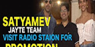 Bollywood Film Satyamev Jayate Team Visit Radio Station For Promotion John Abhram TVNXT Bollywood