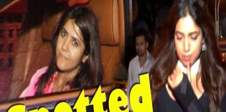 Ekta Kapoor & Bhumi Pednekar Spotted at Juhu TVNXT BOLLYWOOD