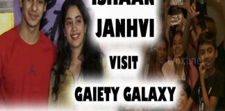Ishaan & Jhanvi Kapoor Visit Gaiety Galaxy for Dhadak Movie Public Reaction TVNXT BOLLYWOOD