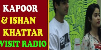 Jhanvi Kapoor - Ishan Khattar Visited at radio Station TVNXT BOLLYWOOD