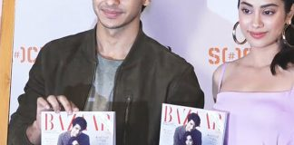 Launch of Harper Bazaar Magazine July August Issue with Jahnvi Kapoor & Ishan copy TVNXT BOLLYWOOD