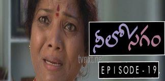 Neelosagam Telugu TV Serial Episode 19