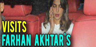 Priyanka Chopra Spotted At Farhan Akhtar House For Discuss Her Next Movie TVNXT BOLLYWOOD
