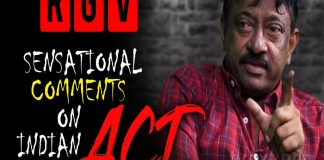 RGV on Indian Govt ACT RGV Sensational Comments on CM Ramuism Reloaded