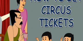 Ramu and Shamu How to get Circus Tickets Comic Stories copy