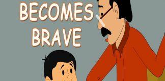 Ramu and Shamu - Ramu Becomes Brave - Comic Stories copy