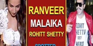 Ranveer, Malaika, Tushar & Rohitt Shetty Spotted In City Mumbai copy