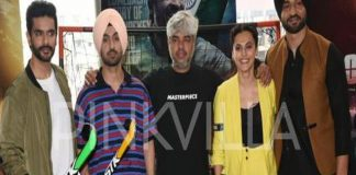 Screening Of Movie Soorma At JUHU PVR Diljit Dosanjh , Tapsee Pannu, Angad Bedi 2 TVNXT BOLLYWOOD
