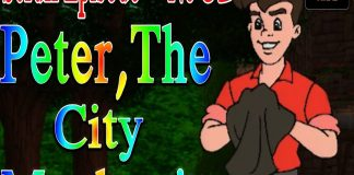 Scruff Episode 32 Peter, The City Mechanic Children's Animation Series