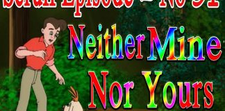 Scruff Episode 51 Neither mine nor yours Children's Animation Series TVNXT KIDZ