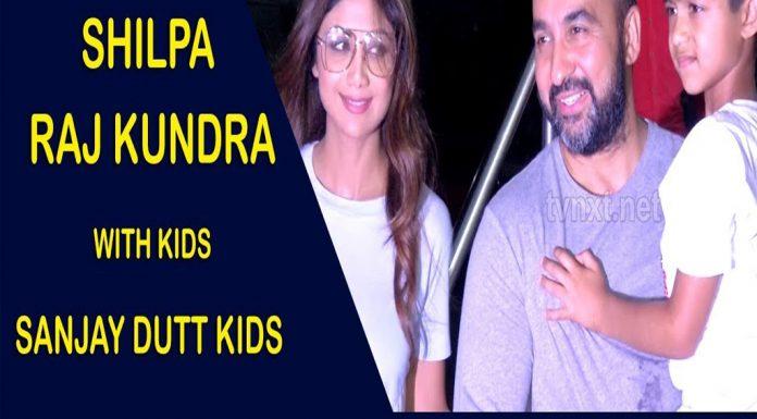Shilpa SShilpa Shetty & Raj Kundra With Kids & Sanjay Dutt Kids Spotted At Airport TVNXT BOLLYWOODhetty & Raj Kundra With Kids & Sanjay Dutt Kids Spotted At Airport TVNXT BOLLYWOOD