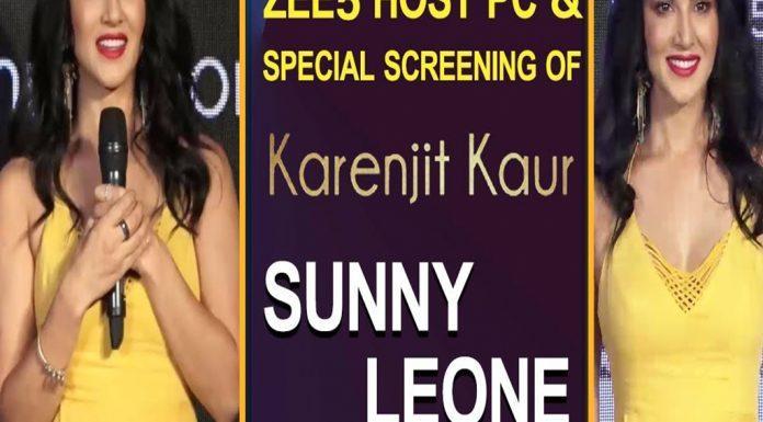 Sunny Leon Zee5 Host TVNXT BOLLYWOOD
