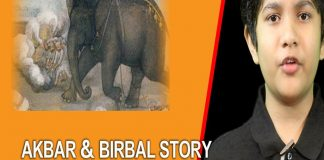 The Best Weapon Story Time Akbar Birbal Story By Shubh TVNXT KIDZ