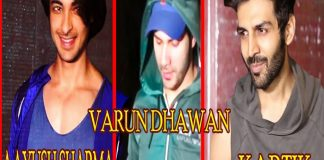 Varun Dhawan, Kartik Aaryan & Aayush Sharma Spotted Outside Gym TVNXT BOLLYWOOD