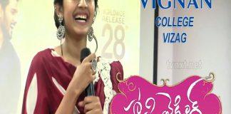 Vignan College Vizag Happy Wedding Movie Team Promotion Niharika, Sumanth Ashwin