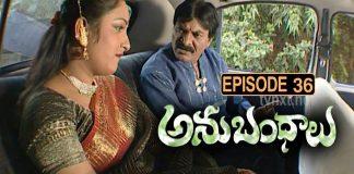 Anubhandhalu Telugu TV Serial Episode 36