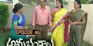 Anubhandhalu Telugu TV Serial Episode # 46
