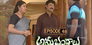Anubhandhalu Telugu TV Serial Episode # 48