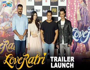 Loveratri Official Trailer Launch By Salman Khan, Aayush, Warina, Abhiraj TVNXT BOLLYWOOD