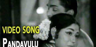 Nageshwara Rao & Janaki Pandavulu Pandavulu Tummeda Video Song Akka Chellelu Movie copy