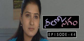 Neelosagam Telugu TV Serial Episode 44 Sai Mitra, Hemanth, Narmada, Avinash