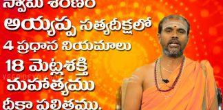 Ayyappa Swami Deeksha part 1