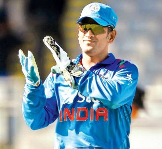 Mahendra Singh Dhoni Appualed to Bowler