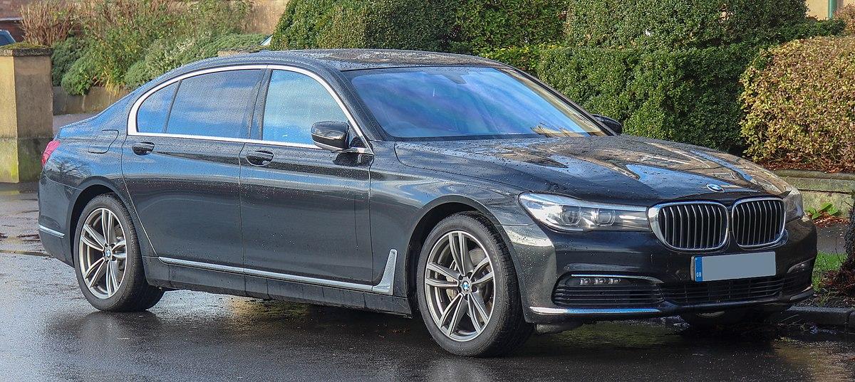 BMW 7series car