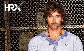 Hrithik Roshan Bolly wood Actor with his brand HRX
