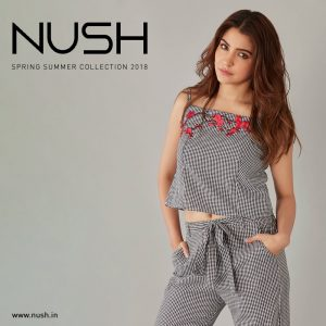 Anushka sharma bollywood actress with her brand NUSH