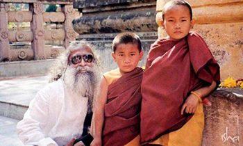 Jagadeesh Vasudev with Smal kids