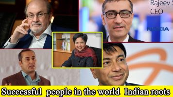 sucessful people with indian roots